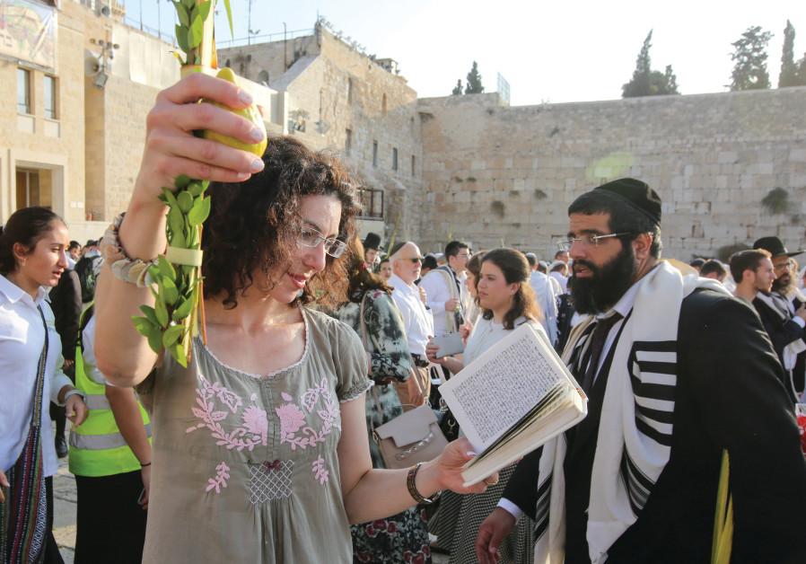 Celebrating Sukkot in Jerusalem
