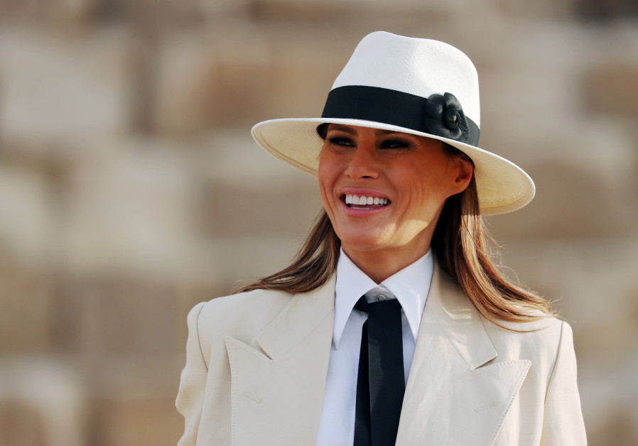 Melania Trump ends Africa tour, says 'glad Kavanaugh accuser been heard'