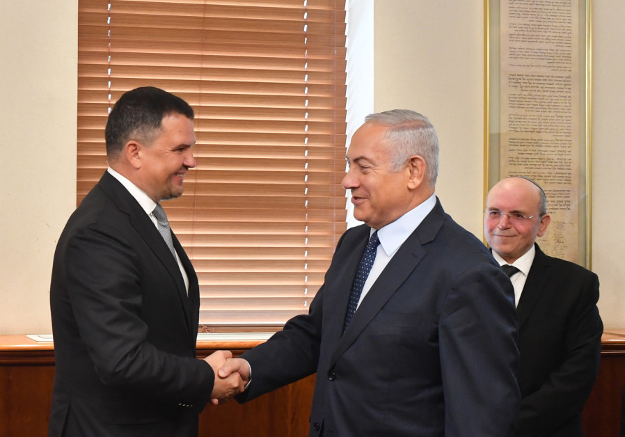 Netanyahu meets highest-ranking Russian official since Syria plane downing