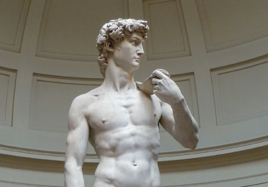THE KUWAITI censors prohibited an encyclopedia depicting Michelangelo's celebrated nude sculpture of
