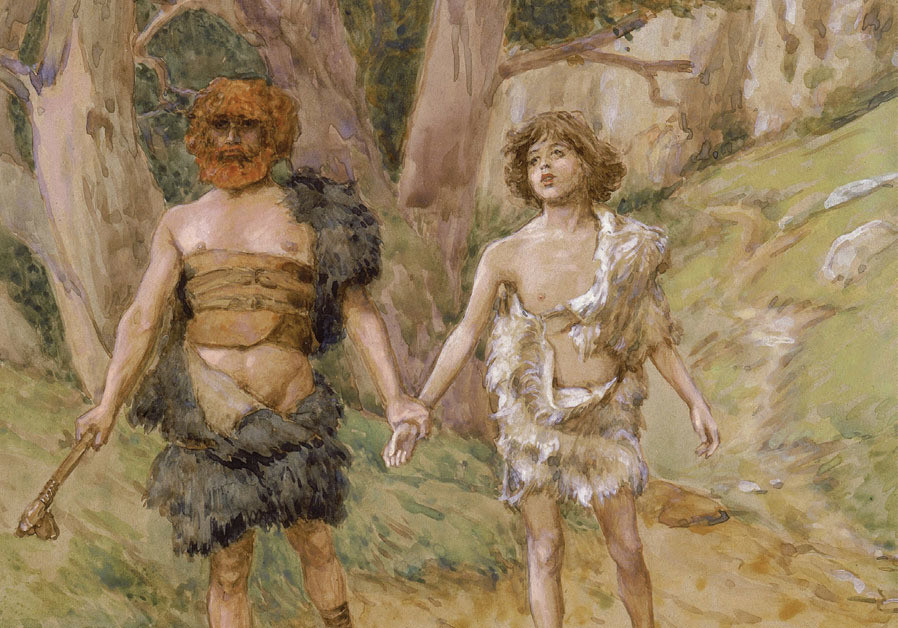 'CAIN LEADETH Abel to death,' James Tissot, 1896-1902: 'Why is it forbidden to murder?'