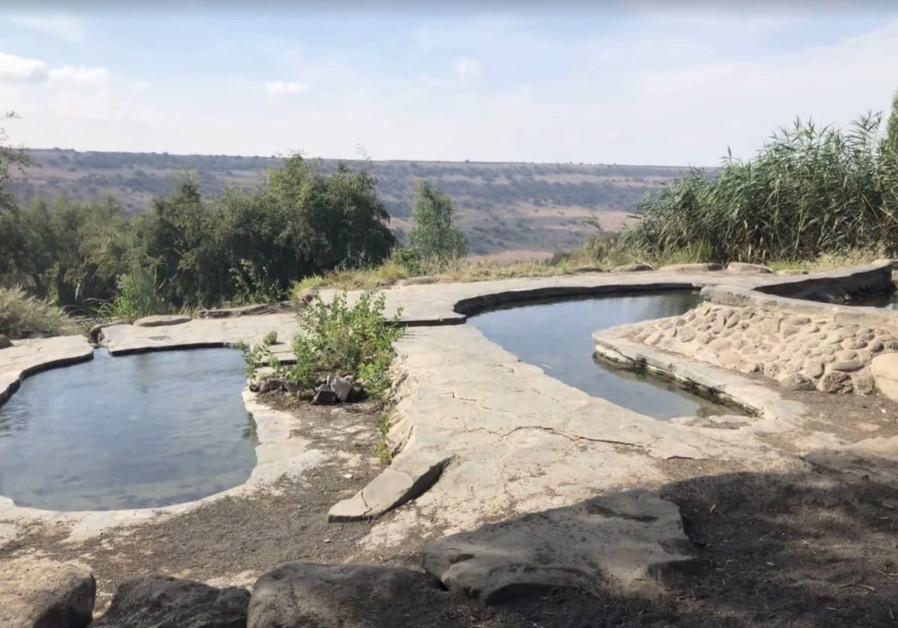 THE DEIR AZIZ spring, close to the Ein Keshatot synagogue, supplied water to the Byzantine-era village.