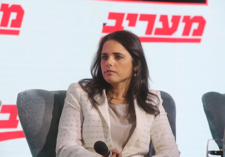 Ayelet Shaked at the Maariv Leaders Conference