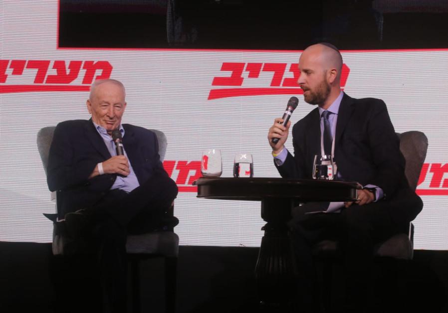 Former Attorney General Yehuda Weinstein interviewed by Jerusalem Post Editor-in-Chief Yaakov Katz