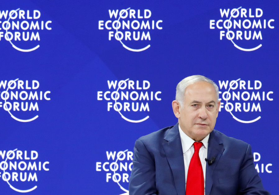 Israel's Prime Minister Benjamin Netanyahu attends the World Economic Forum (WEF).