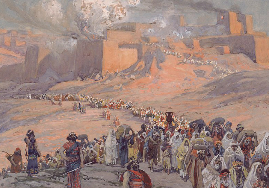 THE FLIGHT of the Prisoners, c. 1896-1902 – exile, concluded AB Yehoshua, is 'in the molecules and a