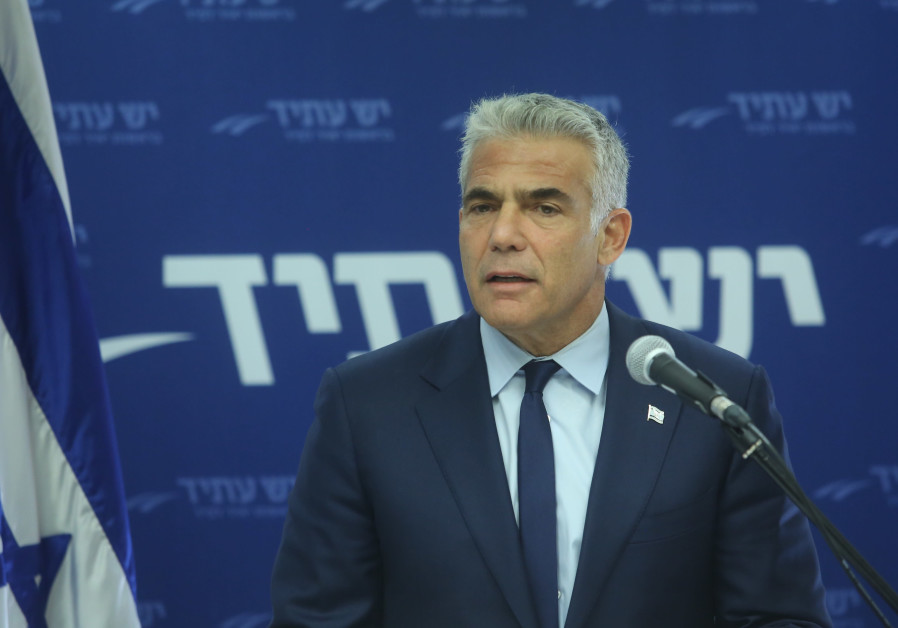 Yesh Atid Party Leader Yair Lapid, October 22, 2018