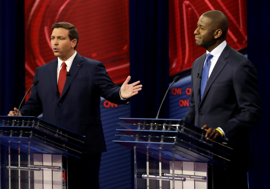 Israel hot, if not always relevant, topic in Florida's governor debate