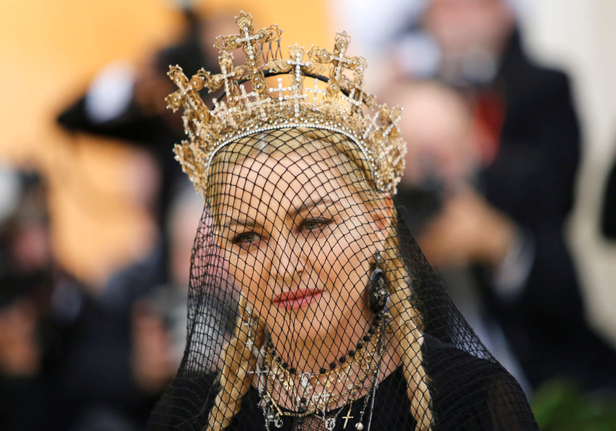Madonna arrives at the Metropolitan Museum of Art Costume Institute Gala (Met Gala) to celebrate the