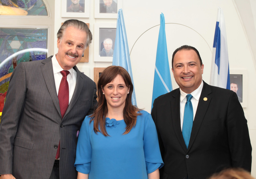 FOZ Founder Mike Evans, Deputy Foreign Minister Tzipi Hotovely and Ambassador Bucaro