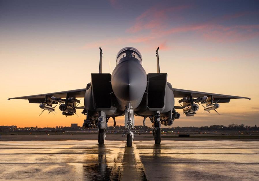 Boeing's F-15IA Advanced fighter jet