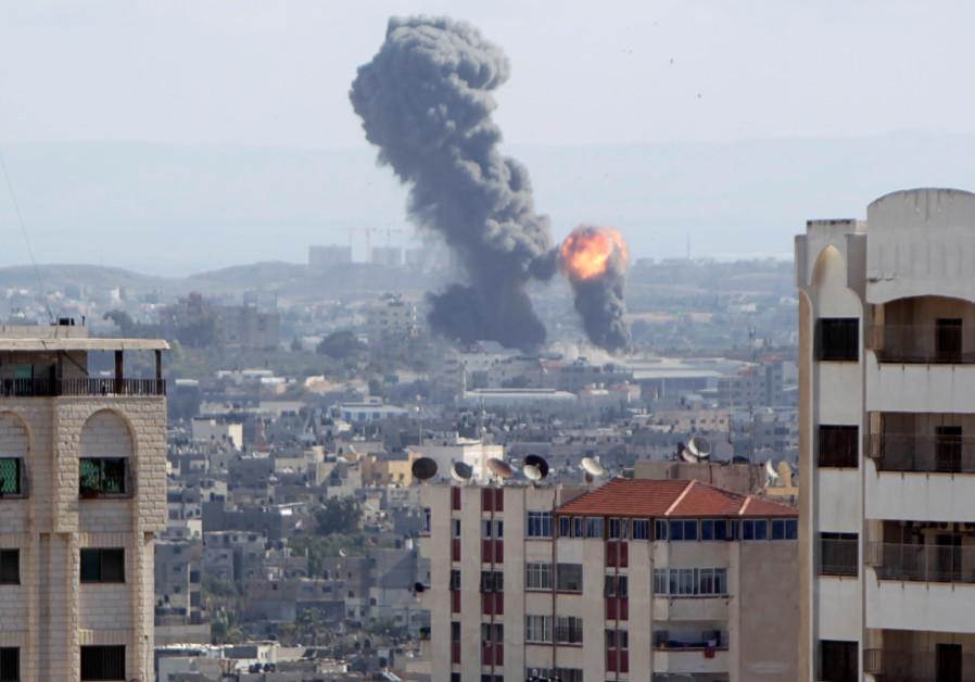 IAF strikes in Gaza Strip following Islamic Jihad rocket attack