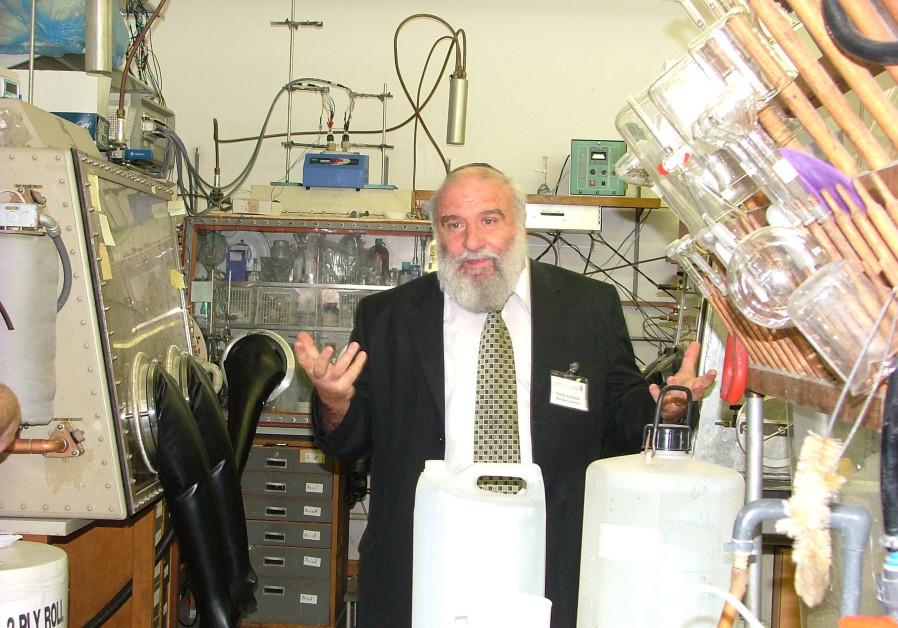 Prof. Doron Aurbach of Bar-Ilan University, winner of the Eric and Sheila Samson Prime Minister's