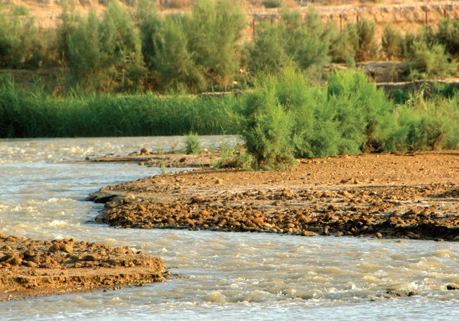 THE WRITER warns that historical incoming water flow is drying out, as the Jordan River (pictured) has almost completely dried out and Lake Kinneret water levels have never been lower. (photo credit: NOAM BEDEIN)