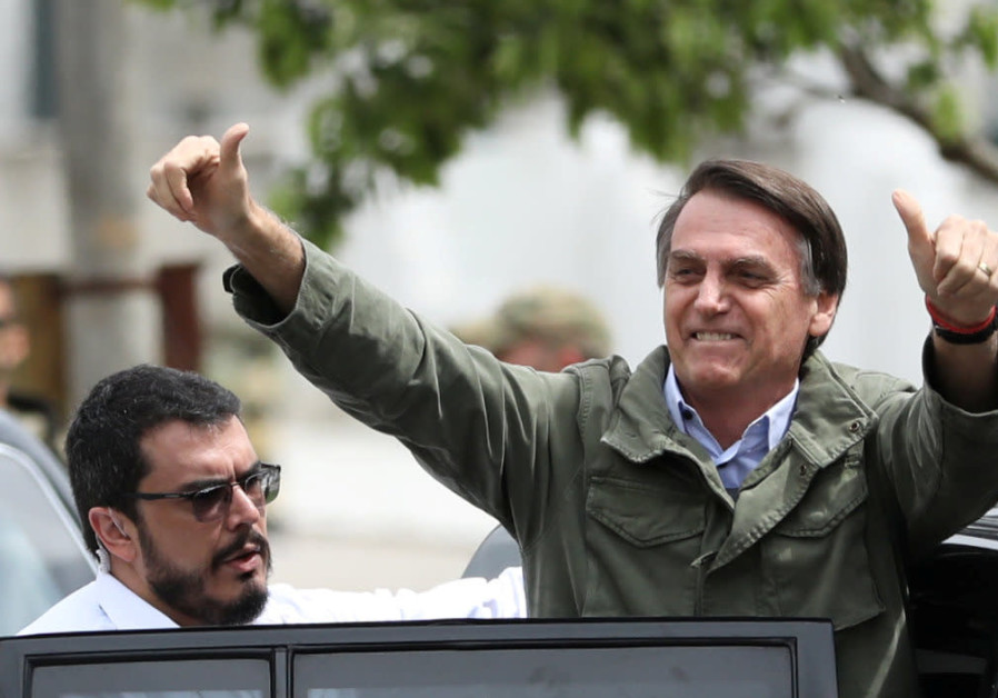 Jair Bolsonaro, Brazil's president-elect, on October 28, 2018