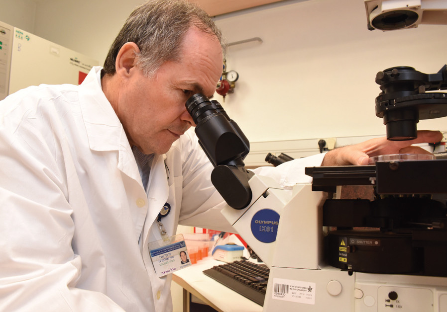Searching for a cure for Parkinson's at Ichilov