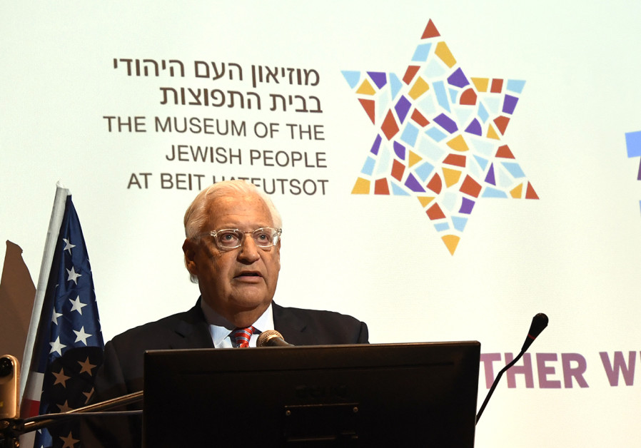 Amb. David Friedman to Jews: Stop fighting over Pittsburgh massacre