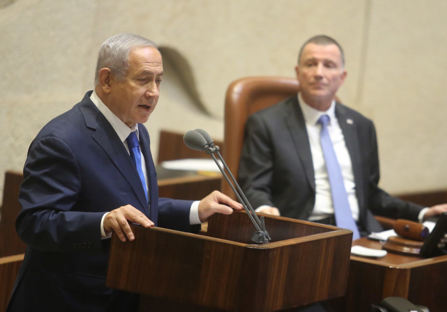 Netanyahu supports Edelstein for third term as Knesset Speaker