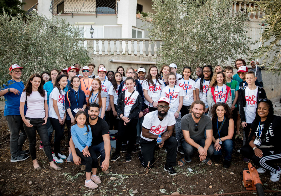 U.S. Hebrew students visit Israel for the first time