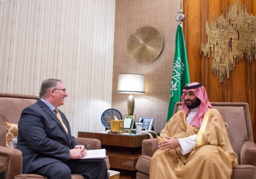 Joel Rosenberg meets the Saudi Crown Prince in Riyadh on November 1.
