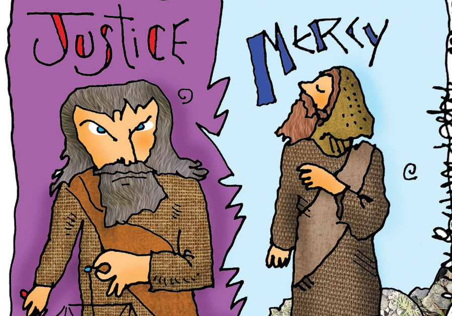 Moses or Aaron – justice or mercy?
