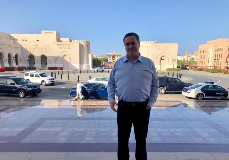 Was Katz's Washington trip kept secret because he is meeting with Arab leaders?