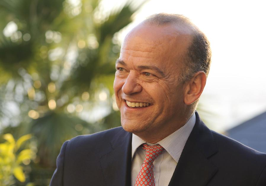 Albert Isola, Gibraltar's Minister for Commerce