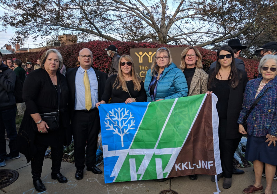 KKL-JNF Stands with the Pittsburgh Jewish Community