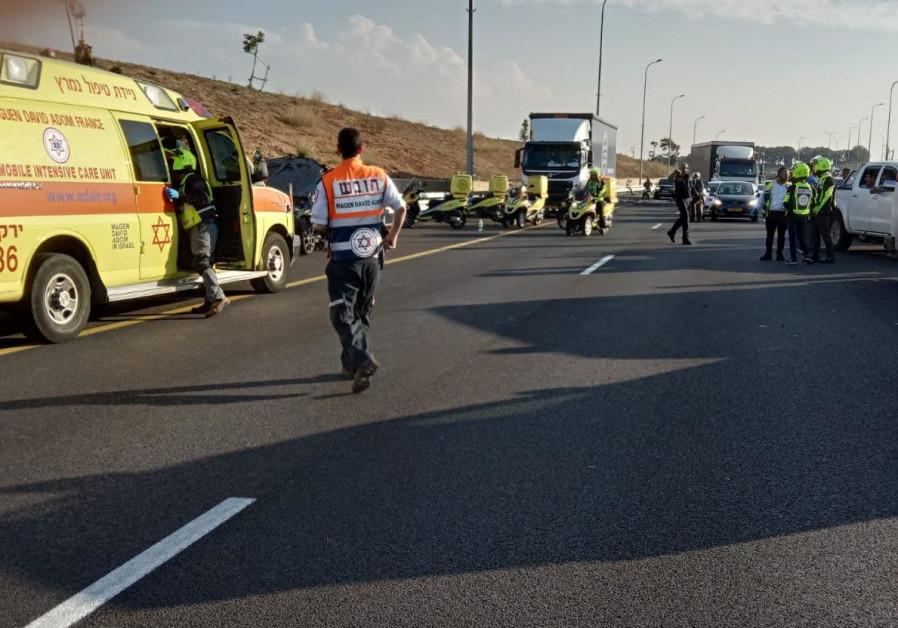 Car explosion kills one on coastal highway outside Tel Aviv