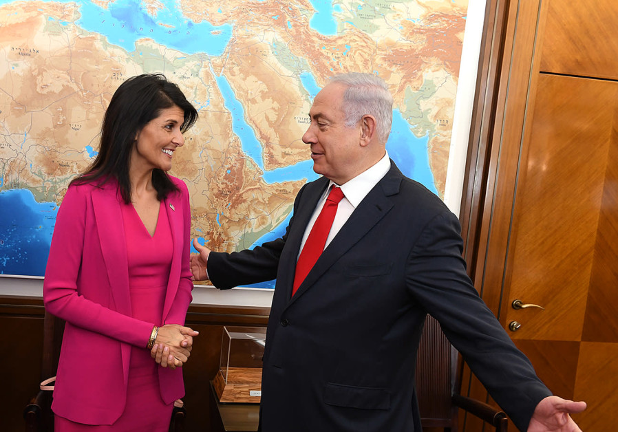Haley and Netanyahu
