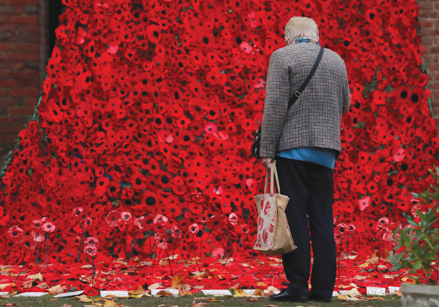 MORE THAN 15,000 poppies, handmade by local craft groups, schools and care homes, are displayed at H