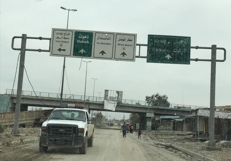 Car bomb targets Mosul in Iraq