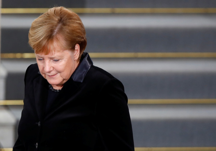 "ZOA slams Merkel for ""absurdly claiming Iran is only Anti-Israel"""