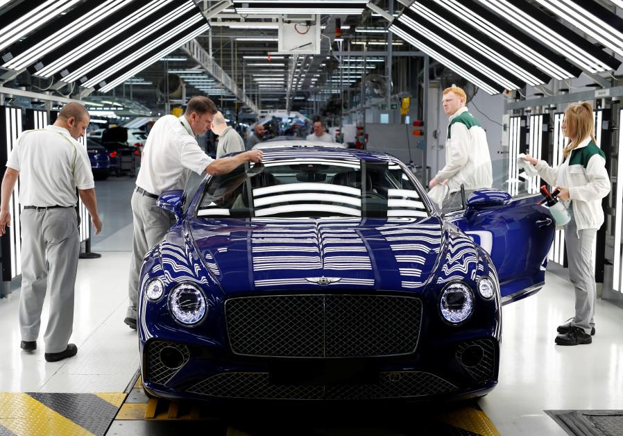 Status symbol Bentley cars go on sale in Israel