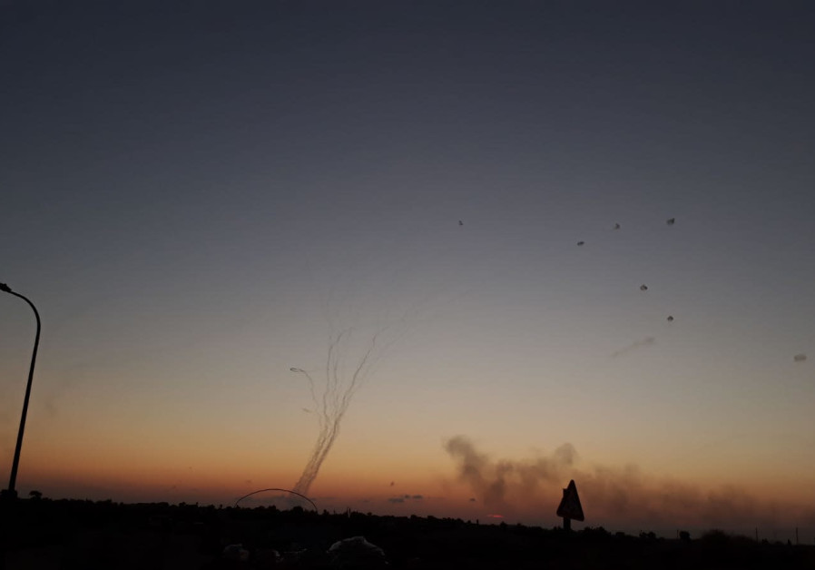 Red alert sirens went off in Israel after rockets were fired from Gaza