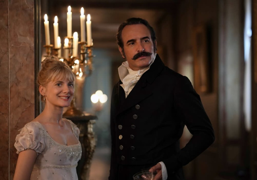 A SCENE from 'Return of the Hero' with Jean Dujardin and Melanie Laurent