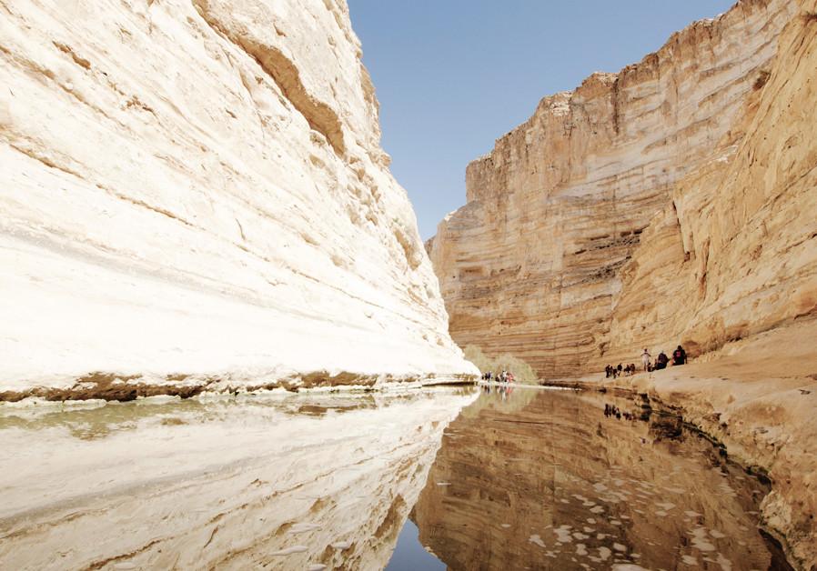Desert soul: Hiking in Ein Avdat National Park
