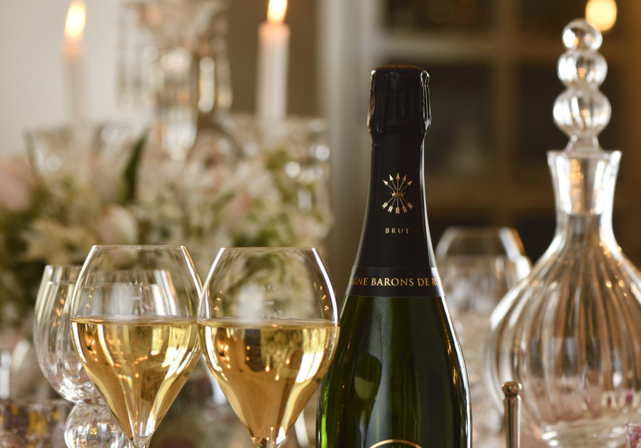 ROTHSCHILD CHAMPAGNE, suitable for the finest occasions. (Courtesy)