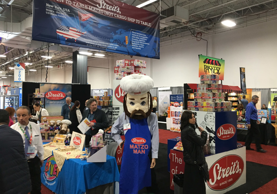 Streit's Matzo Man at Kosherfest 2018