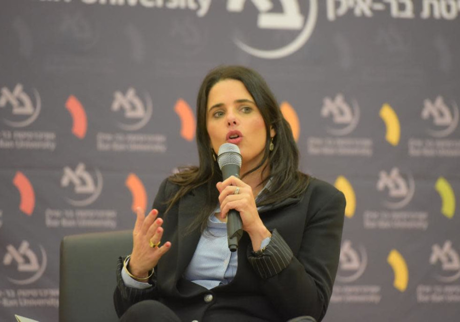 Ayelet Shaked: Elections are between strong right and weak left