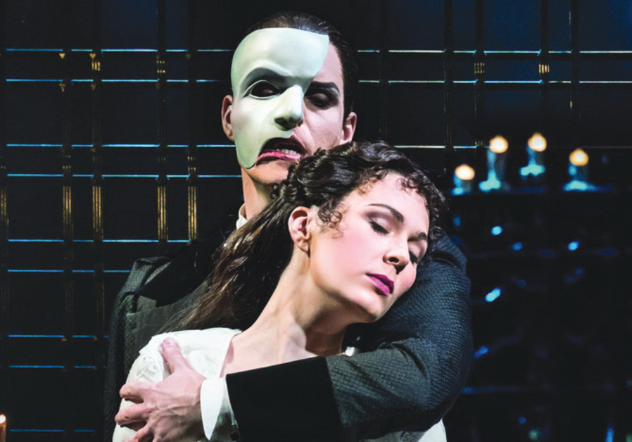 A SCENE FROM 'Phantom of the Opera,' in which Ben Lewis stars as the 'Phantom' and Kelly Mathieson