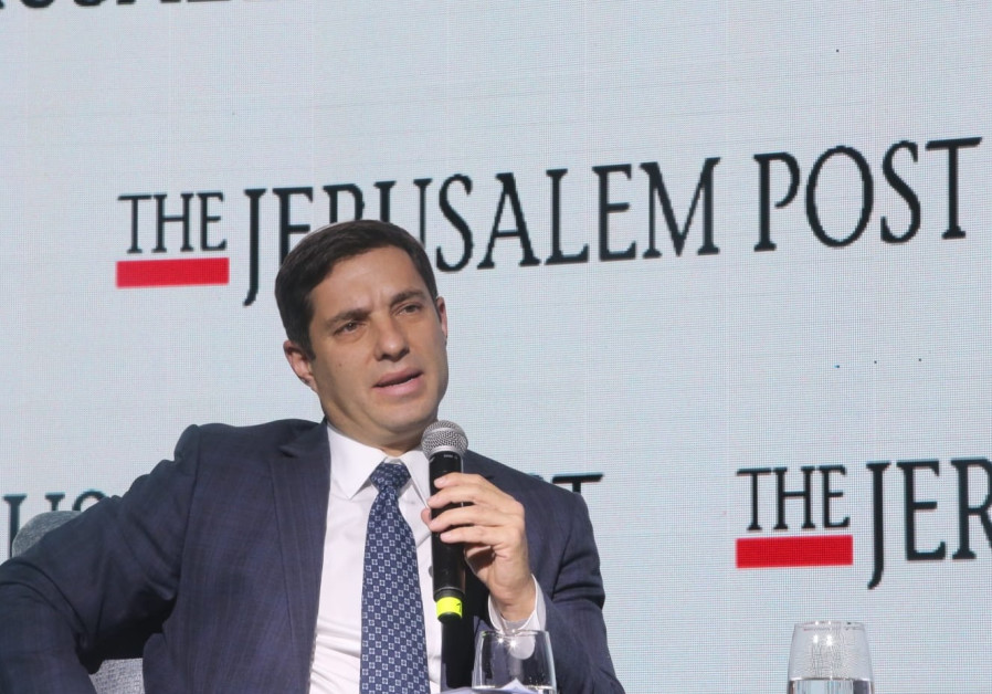 Bini Zomer speaks The Jerusalem Post's Diplomatic Conference, November 21, 2018