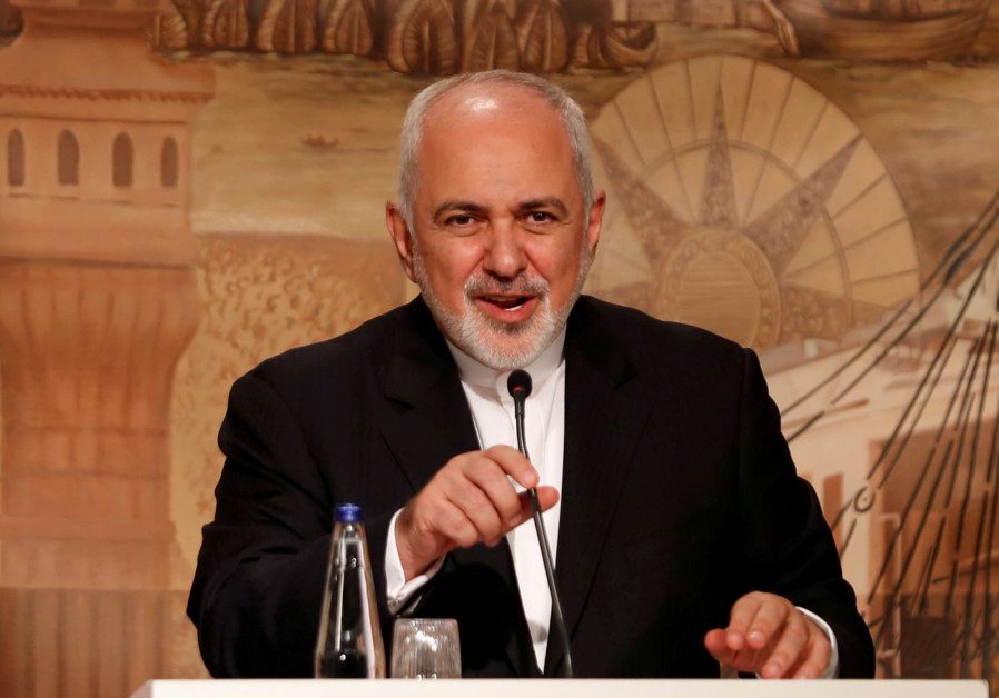 Iran's Zarif questions U.S. coalition for 'peaceful resolution'