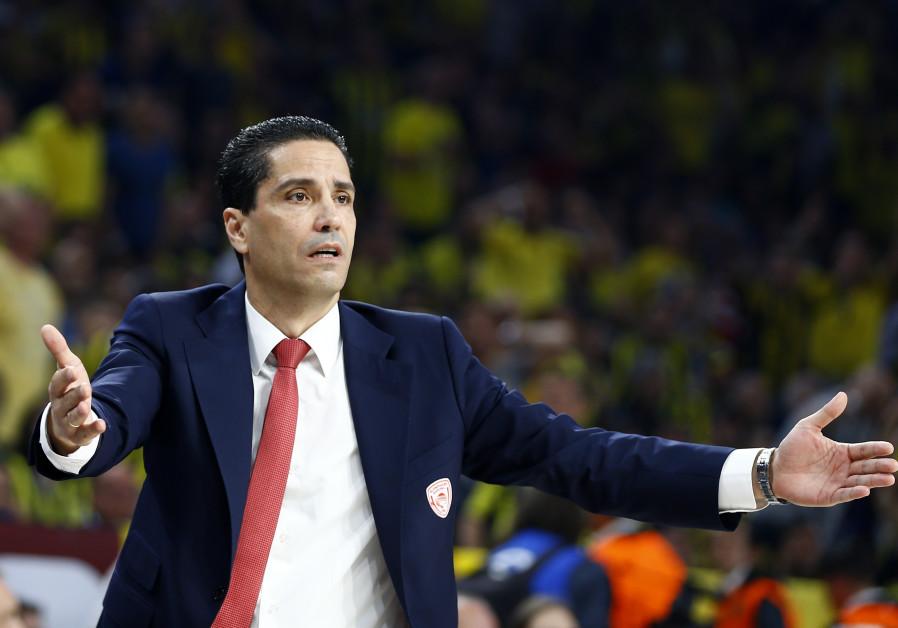 Coach Ioannis Sfairopoulos, 2017.