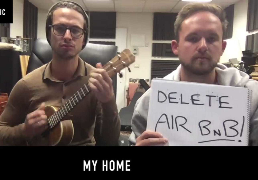 THE PORTNOY brothers sing about Airnbn in their latest song.