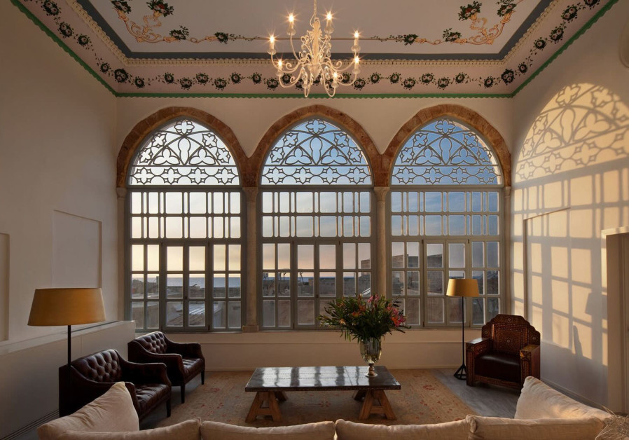 THE EFENDI HOTEL in the heart of the Old City of Acre