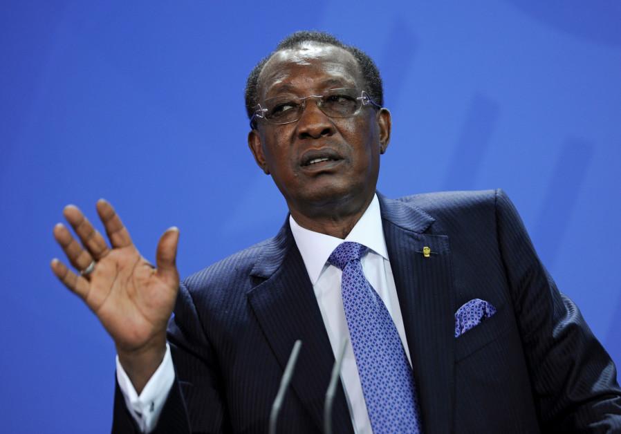 President of Muslim-majority Chad arrives to reestablish ties with Israel