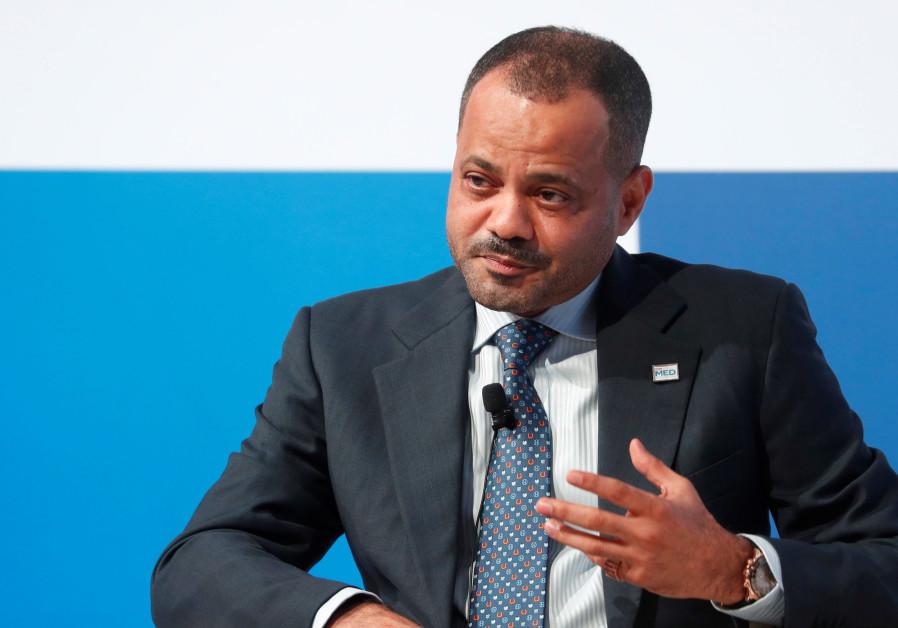 Sayyid Badr bin Hamad Al Busaidi, secretary general of Oman's at the Mediterranean summit MED 2018 i