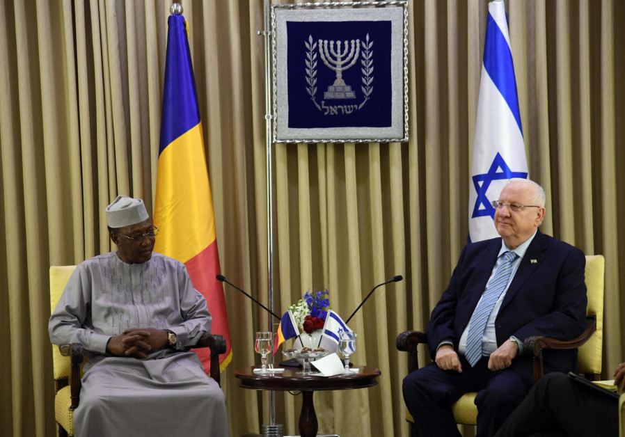 President Rivlin with President Deby of Chad II, 25 November 2018