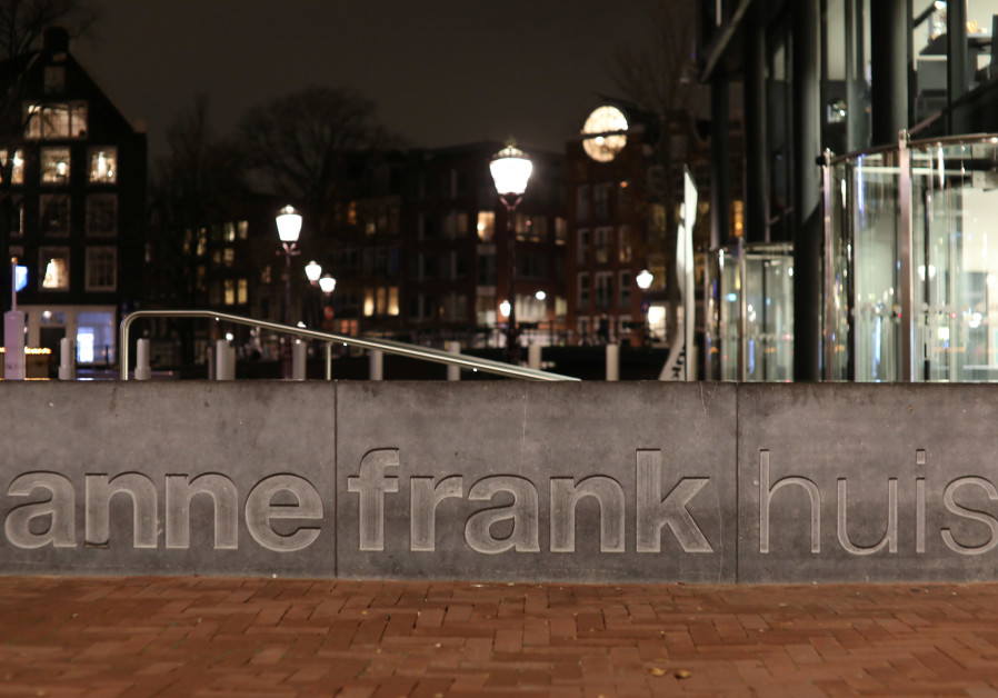 View of the entrance of the Anne Frank House museum in Amsterdam, Netherlands November 21, 2018. Picture taken November 21, 2018.